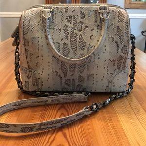 Alice and Olivia Snakeskin Handbag